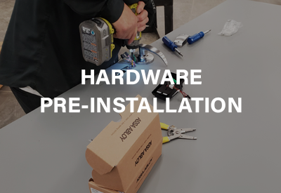 Hardware Pre-Installation Services
